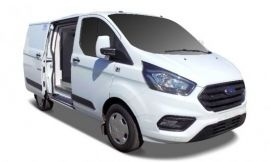 noleggio ford transit custom refrigerato