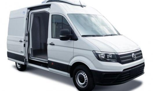 noleggio furgone volkswagen crafter frigo